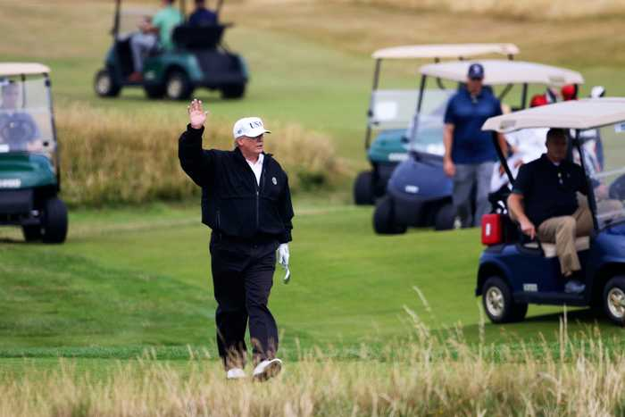 Rick Reilly Challenges President to Golf Game (as Long as Trump Doesn't Cheat)