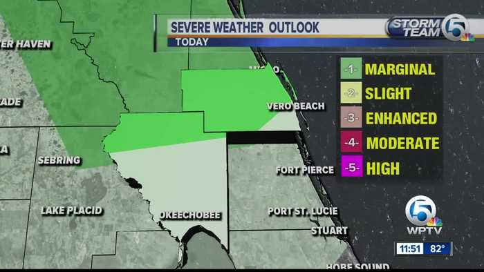 South Florida Monday afternoon forecast (4/8/19)