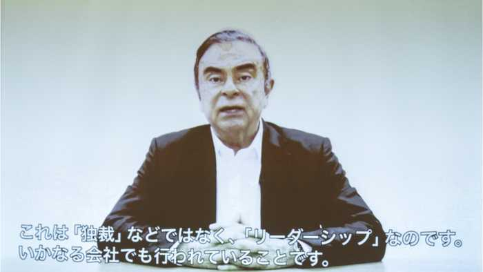 Ghosn Says He's A Victim Of Conspiracy By Nissan Execs