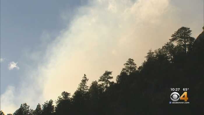 New Wildfire Burns In Boulder County