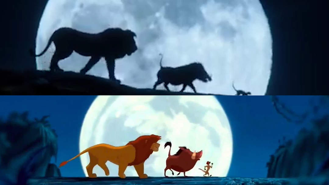 u0026 39 the lion king u0026 39  live-action movie trailer vs