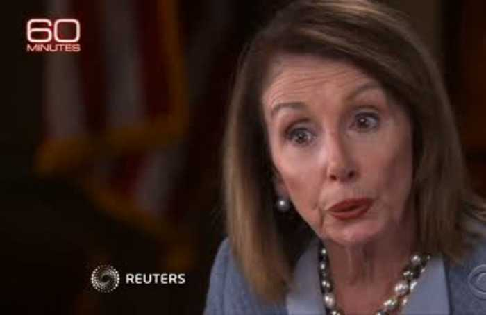 Trump knows he shouldn't be president: Pelosi