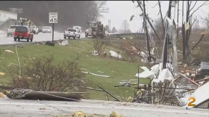 Powerful Storms Spawn At Least 3 Tornadoes In Pennsylvania
