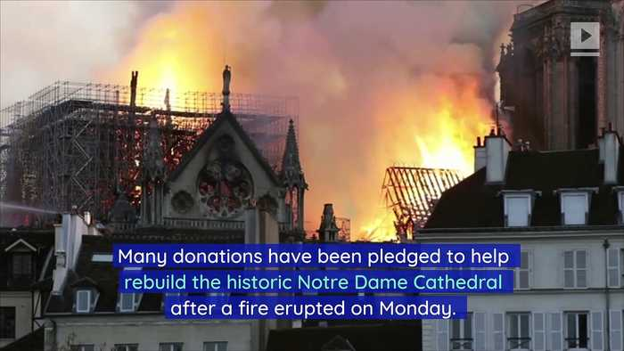 Apple and Disney to Help Rebuild Notre Dame Cathedral