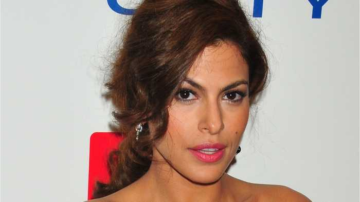 Eva Mendes Refreshes Hair With Strawberry Highlights