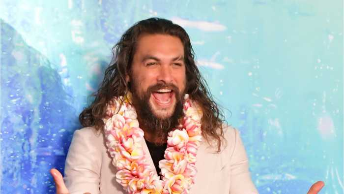 'Aquaman' Star Jason Momoa Shaves Off His Beard