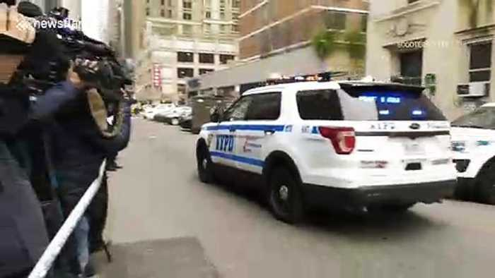 Man arrested with gas in NYC Cathedral appears in handcuffs