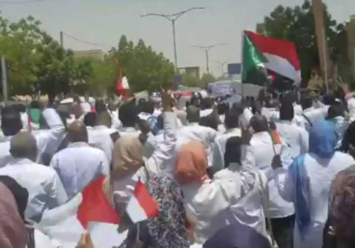 Sudanese Doctors Join Anti-Government Protests in Khartoum