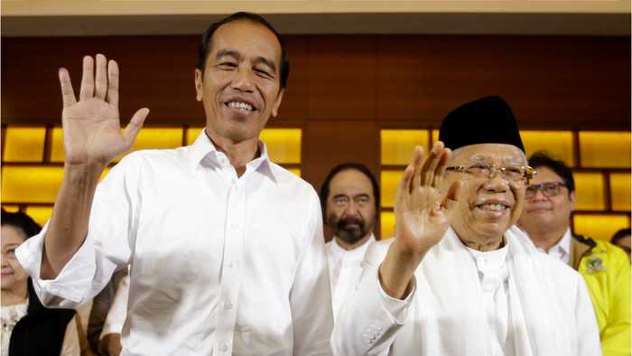 Indonesian President Joko Widodo Appears To Win Re-Election