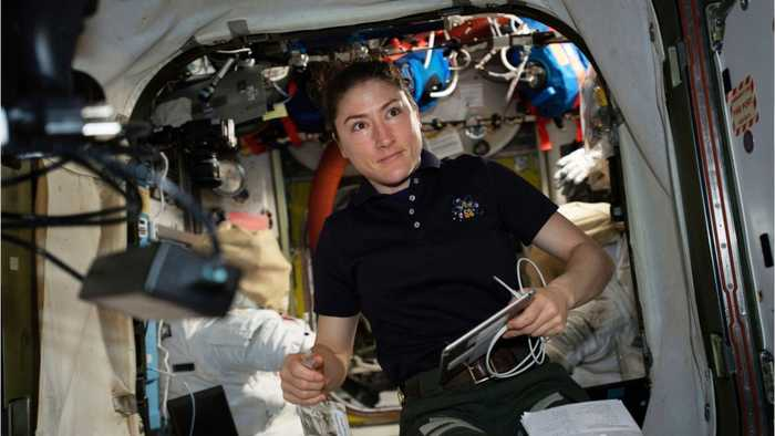 Christina Koch Sets Space Record