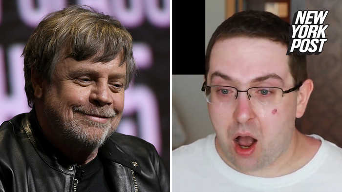 Tearful 'Star Wars' superfan shuts down the haters with Mark Hamill shoutout
