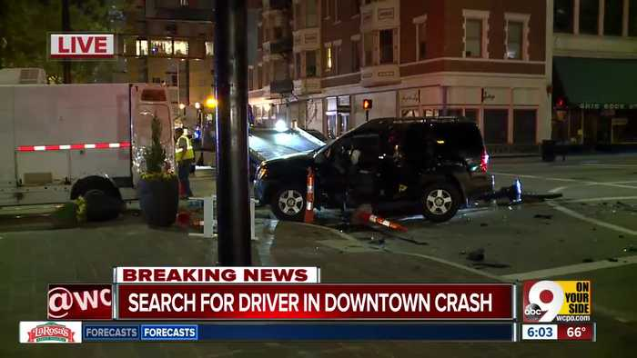 Police seek driver in Downtown hit-and-run crash that hurt another driver, MSD subcontractor