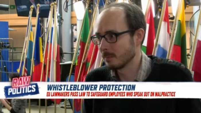 EU extends new judicial protections for whistleblowers | Raw Politics