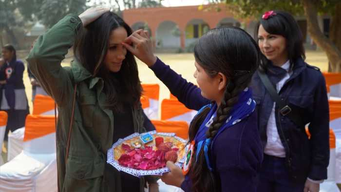 Meghan Markle Visits India With World Vision