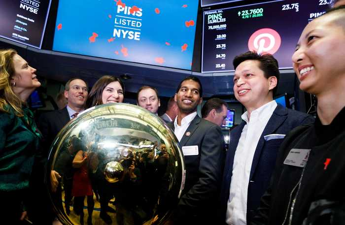 Pinterest Makes its NYSE Debut, Shares Up 25 Percent