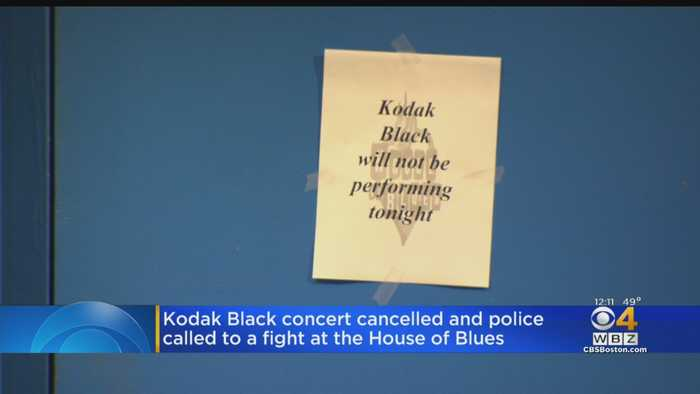 Kodak Black Cancels Boston House Of Blues Concerts, Sparking Disturbance Outside Venue