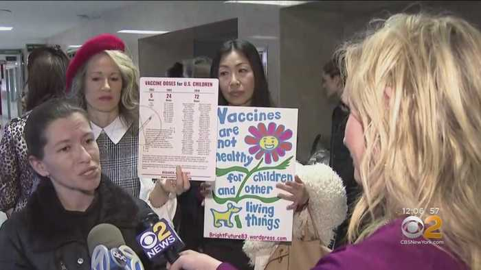 Parents Fighting Back Against NYC's Mandatory Vaccination Order