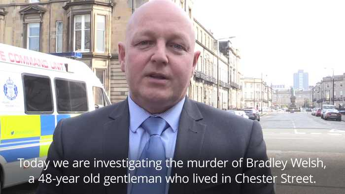Police statement after Bradley Welsh was shot dead