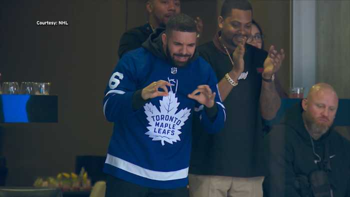 Drake's Curse Continues At Toronto Maple Leafs Game