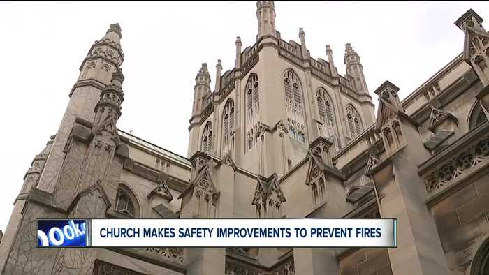 After new safety improvements, Trinity Cathedral leaders reflect on Notre Dame fire