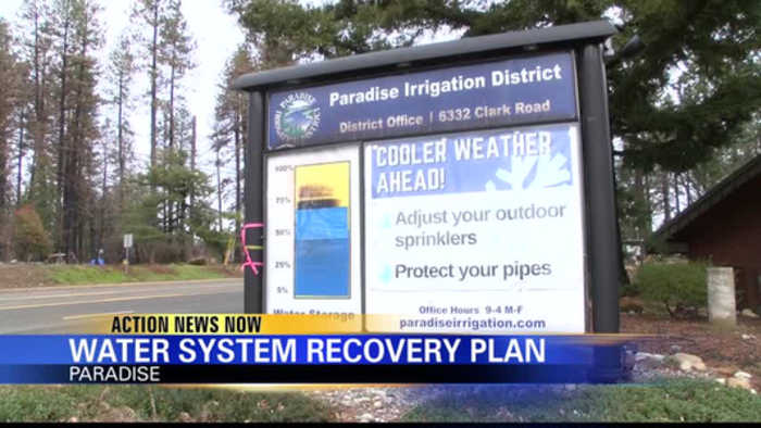 Paradise Irrigation District releases Water System Recovery Plan