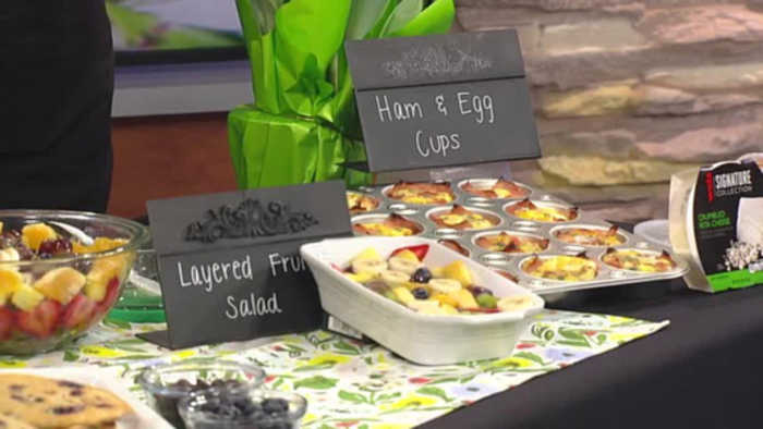 VIDEO Spring brunch ideas