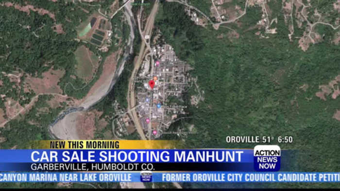 Search underway for Humbolt County car sale shooting suspects