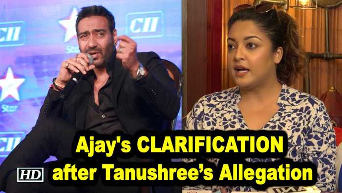 Ajay Devgn issues CLARIFICATION after Tanushree's Allegation