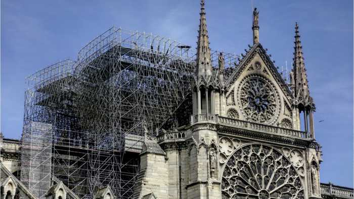 Nissan Offers $112,000 To Notre Dame Restoration