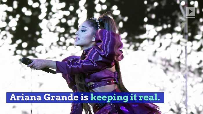 Ariana Grande Says Performing Her Music Is 'Hell'