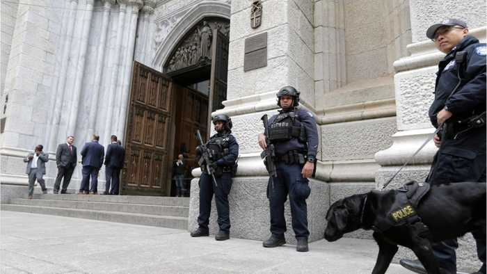 Man Arrested After Walking Into New York Cathedral With Gas Cans & Lighters