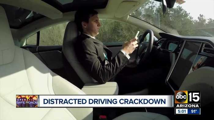 House sends cellphone driving ban to Governor Ducey