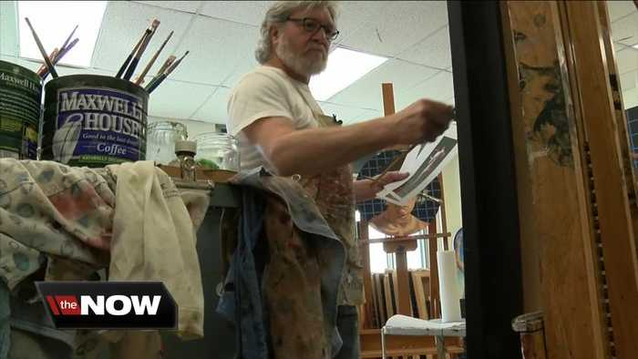 Local artist Gary L. Wolfe's work is showing up everywhere
