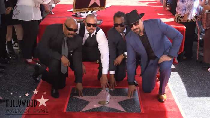 Cypress Hill Makes History with Star on Hollywood Walk of Fame