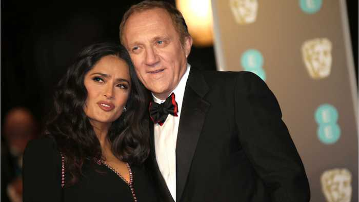 Salma Hayek Says Husband Francois-Henri Pinault Won't Claim Tax Credit For Donation To Notre Dame Repairs