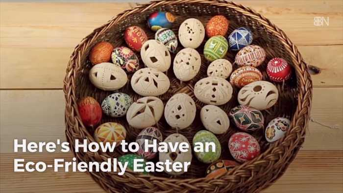How To Have An Environmentally Conscious Easter Holiday