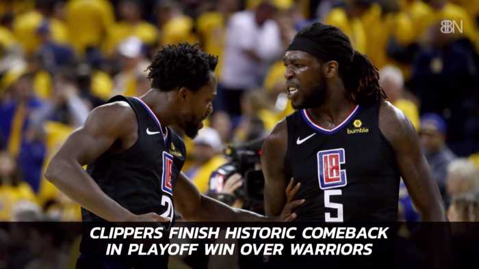 The Clippers Upset The Warriors In A Big Comeback Game