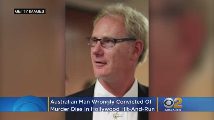 Australian Man Wrongly Convicted Of Murder Dies In Hollywood Hit-And-Run