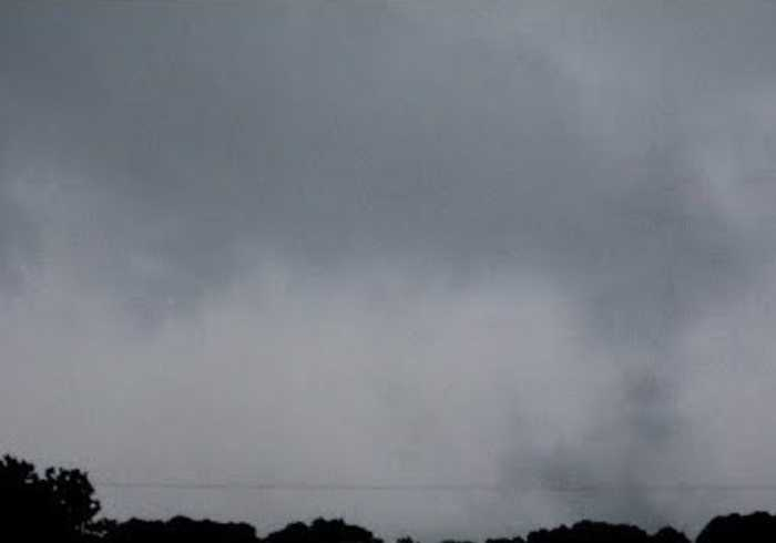 Dark Clouds Form Over Tylertown Amid Severe Storms in Mississippi