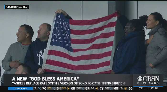 Singer Kate Smith Silenced At Yankee Stadium