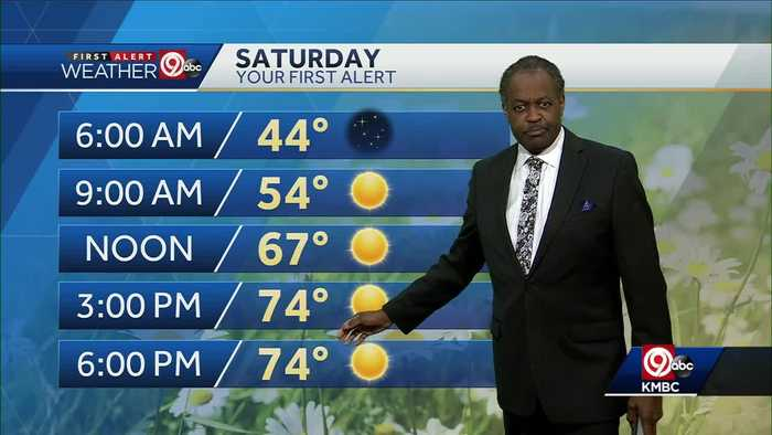 Easter weekend looks warm, mostly sunny