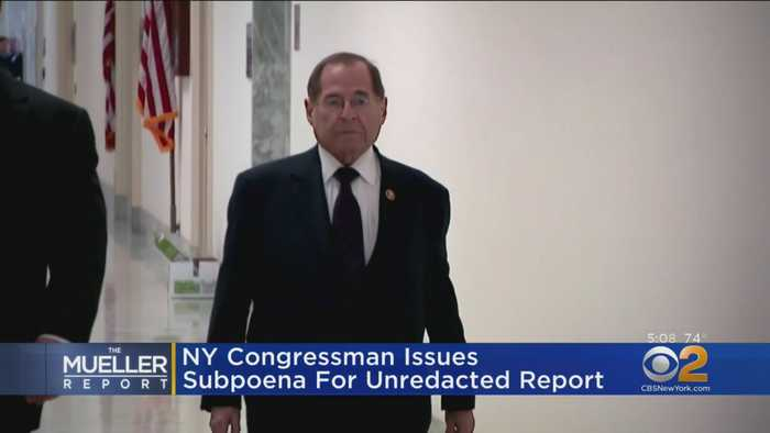 NY Congressman Issues Subpoena For Mueller Report