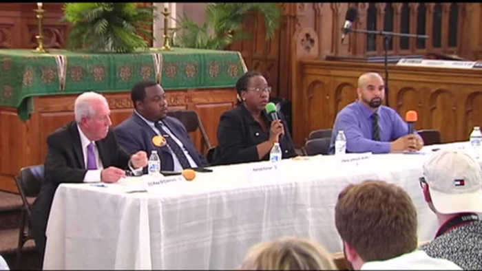 VIDEO Allentown mayoral candidates sound off at forum
