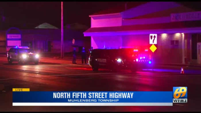 VIDEO: Male suspect in custody in connection with Muhlenberg Township hit and run