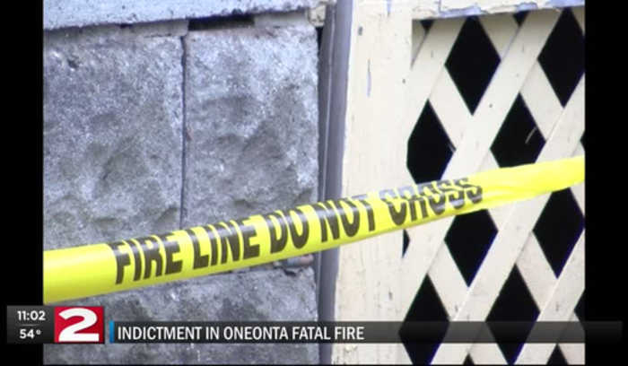 Indictment in fatal Oneonta fire