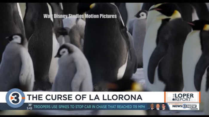 Loper previews 'Penguins,' 'Curse of La Llorona'