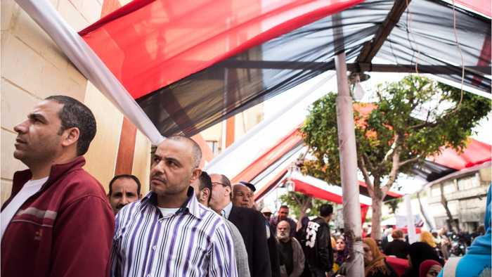 Egypt Votes In Referendum That Could Keep Sisi In Power Until 2030