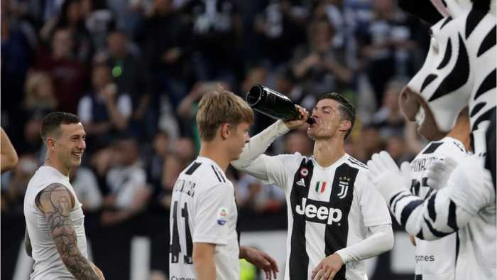 Juventus Wins 8th Straight Title
