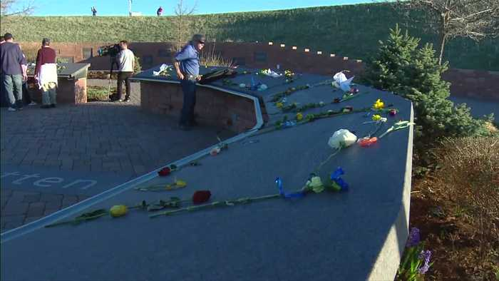 Survivors attend vigil to mark 20 years since Columbine High School shooting