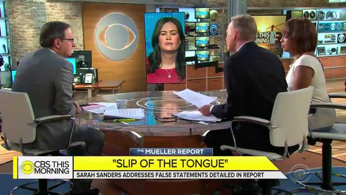 "Sarah Sanders pushes back on ""you lied"" rhetoric"